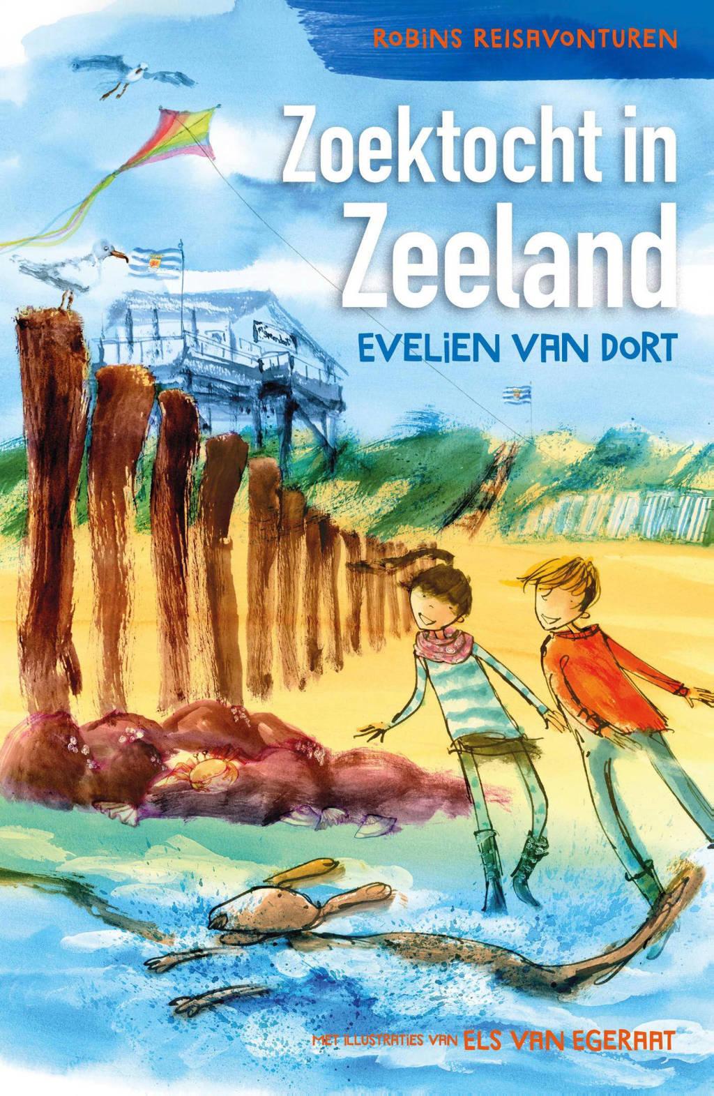 Robin's reisavonturen: Zoektocht in Zeeland - Evelien van Dort