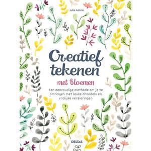 Creatief tekenen met bloemen - Julie Adore