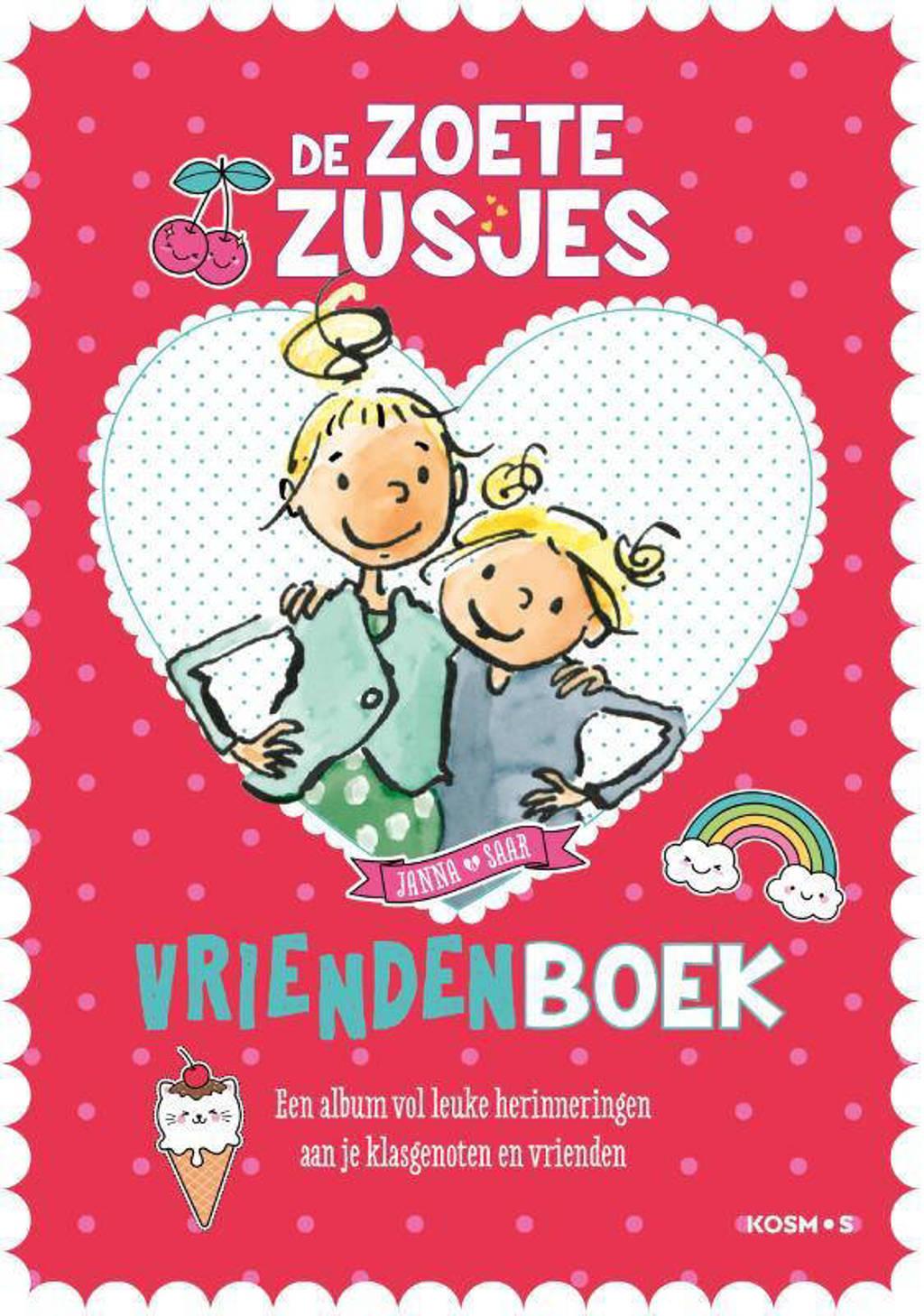 De zoete zusjes vriendenboekje - Hanneke de Zoete