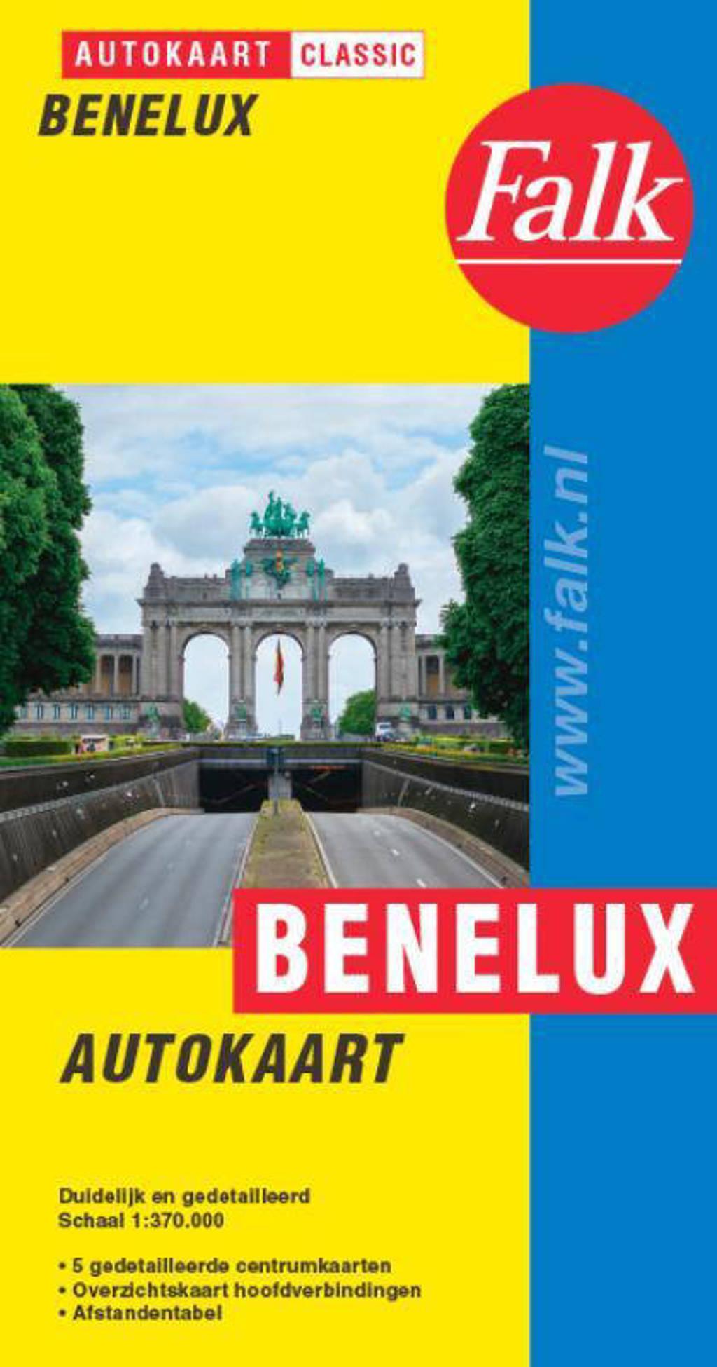 Falk autokaart Benelux classic