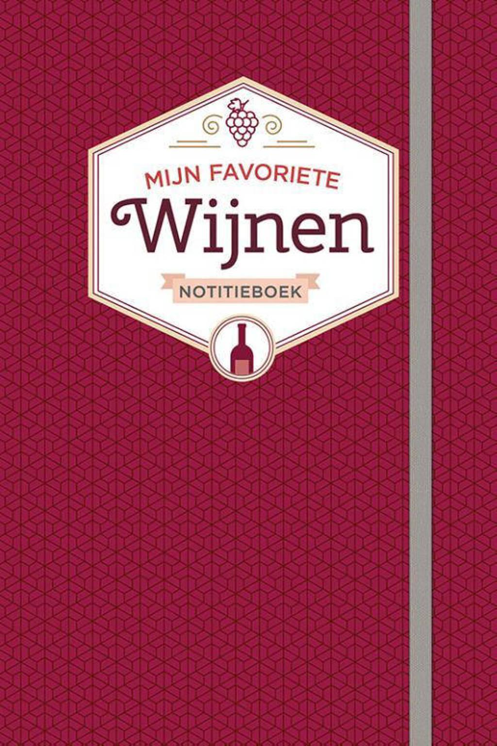 Notitieboek-Mijn favoriete wijnen - ZNU