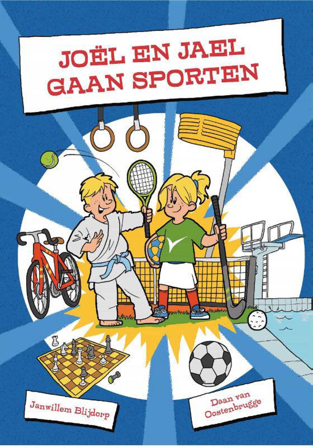 Joël en Jael gaan sporten - Janwillem Blijdorp
