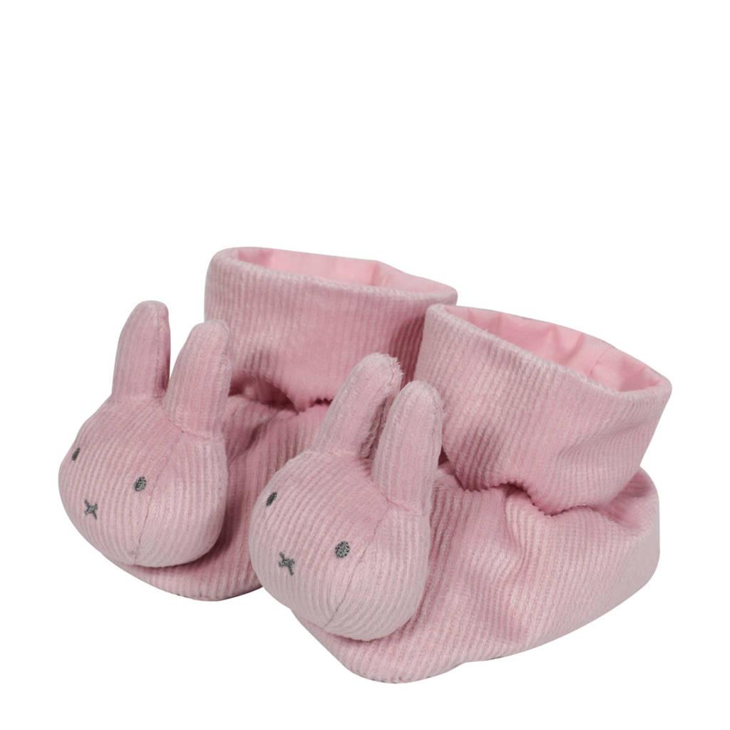 nijntje boxpantoffels pink baby rib  kids, Roze