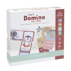 Domino puzzel - dierentuin denkspel