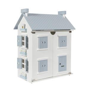 houten poppenhuis 25-delig