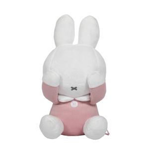 Kiekeboe pink baby rib knuffel 18 cm