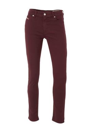skinny jeans D-Roisin donkerrood