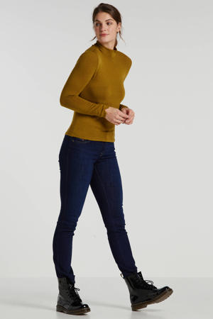 straight fit jeans D-Sandy donkerblauw