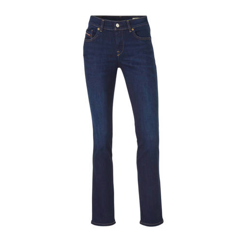 Diesel straight fit jeans D-Sandy donkerblauw
