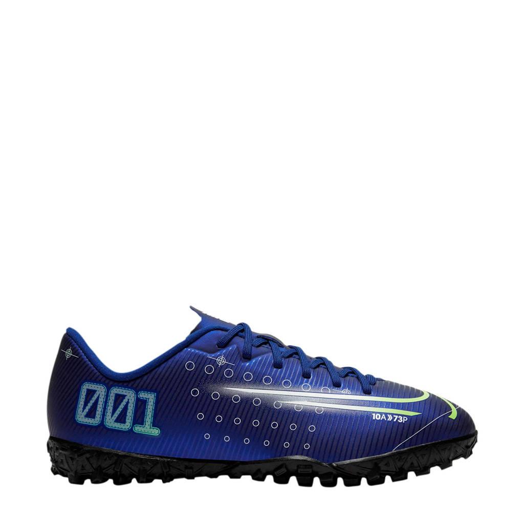 Nike Mercurial Vapor 13 Academy MDS TF Jr. voetbalschoenen donkerblauw, Donkerblauw