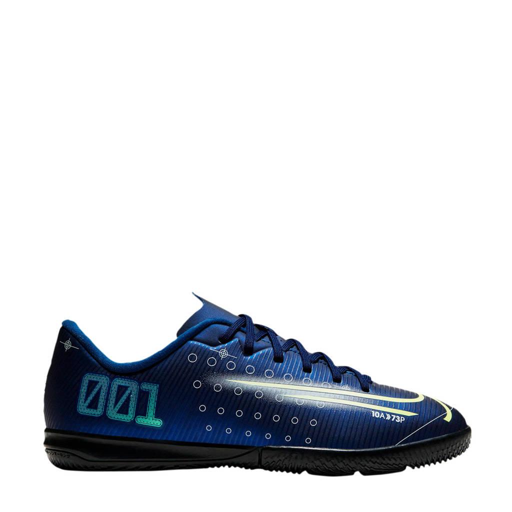 Nike Mercurial Vapor 13 Academy MDS IC Jr. voetbalschoenen donkerblauw, Donkerblauw/geel