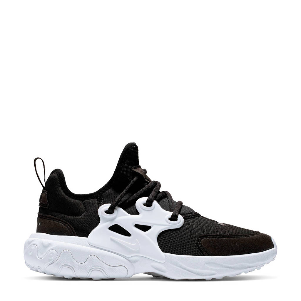 Nike React Presto  sneakers zwart/wit, Zwart/wit