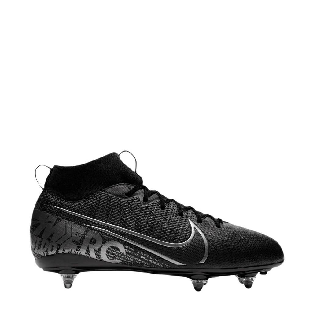 Nike Mercurial Superfly Academy SG-Pro Jr. Mercurial Superfly Academy SG-Pro voetbalschoenen, Zwart/zilver