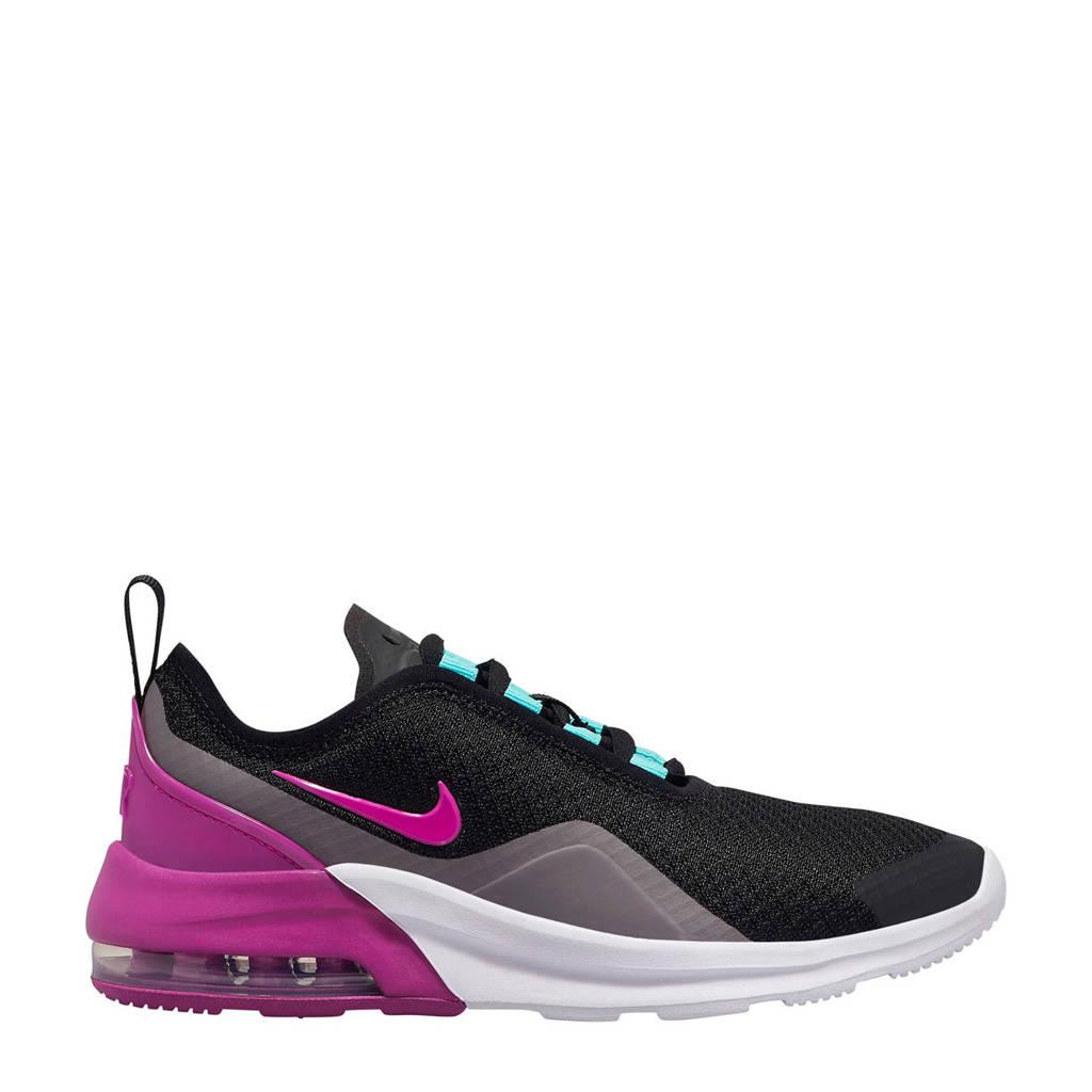 Nike Air Max Motion 2 sneakers zwart/fuchsia, Zwart/fuchsia
