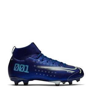 Mercurial Superfly 7 Academy FG/MG Jr. voetbalschoenen donkerblauw