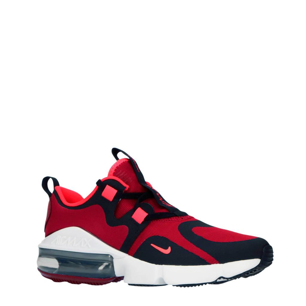 Nike Air Max Infinity (GS) sneakers rood/zwart, Rood/zwart