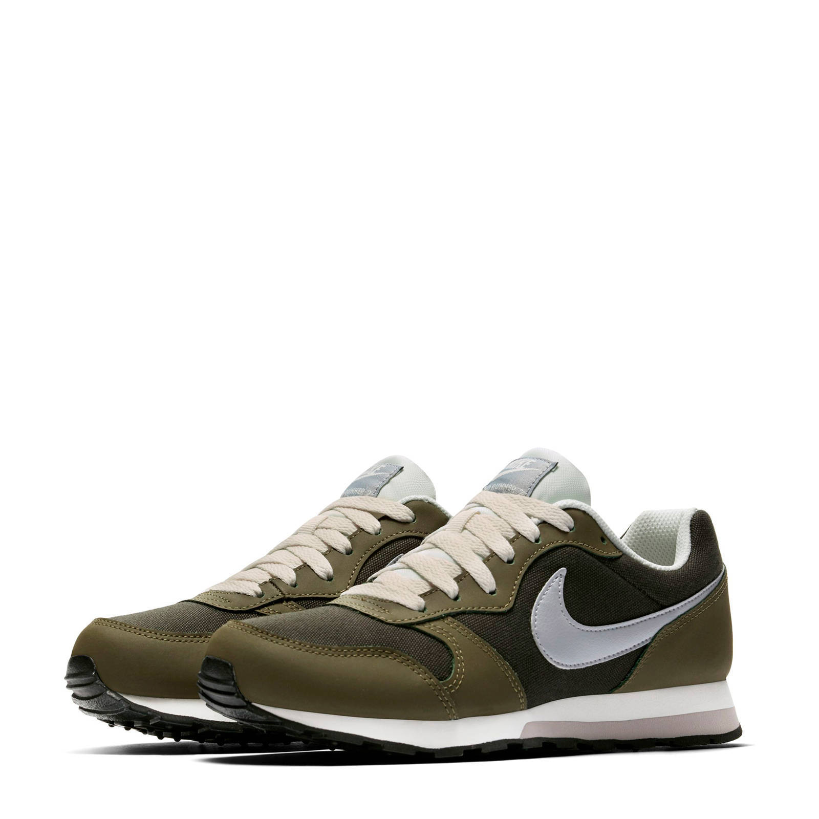 Nike MD Runner 2 (GS) sneakers groenolijfgroen | wehkamp