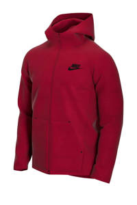 Nike Tech Fleece vest rood, Rood