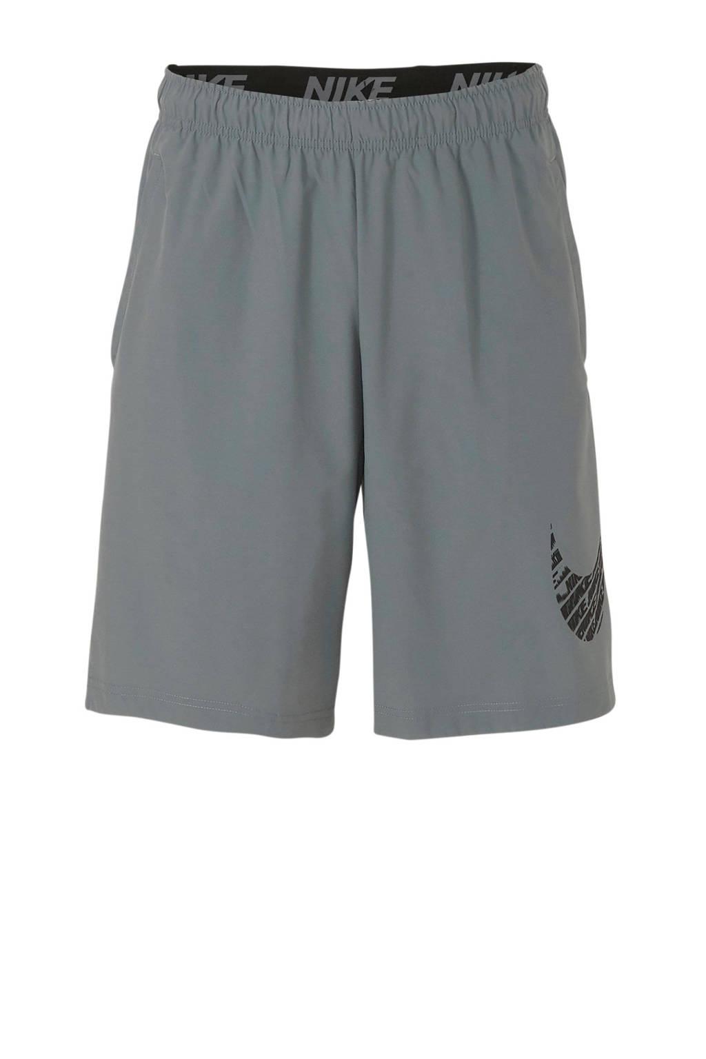 Nike   sportshort grijs, Grijs