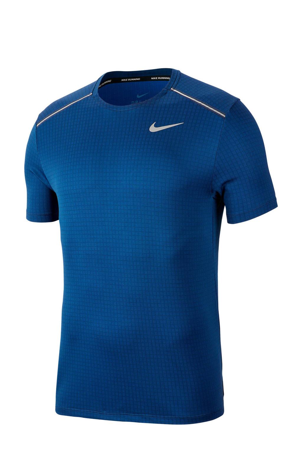 Nike   hardloop T-shirt blauw, Blauw