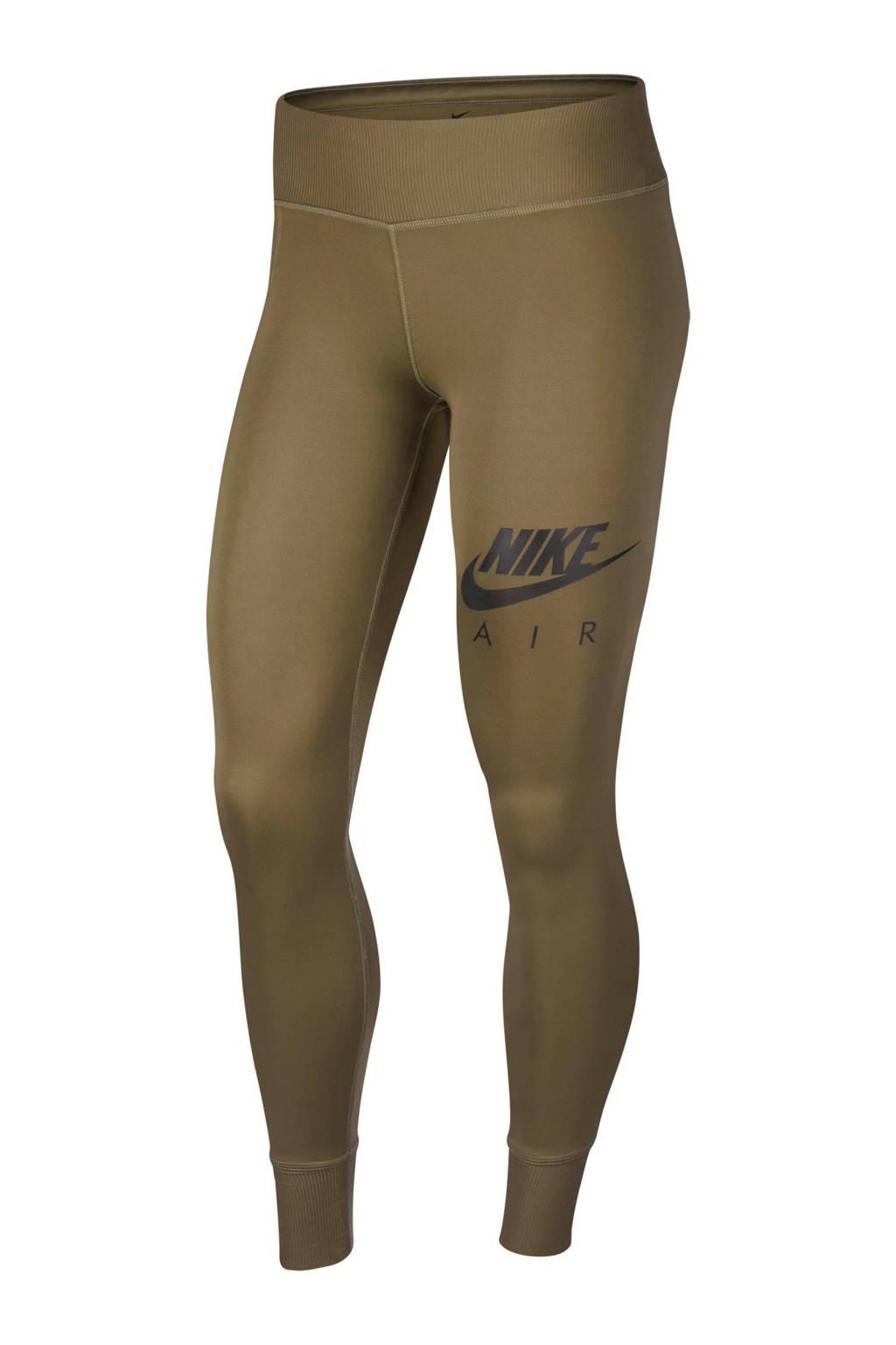 Nike Air 7/8 hardloopbroek olijfgroen, Olijfgroen