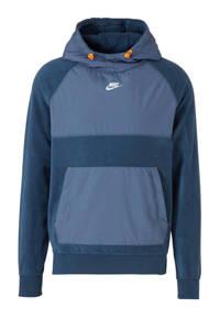 Nike   fleece sweater blauw, Blauw