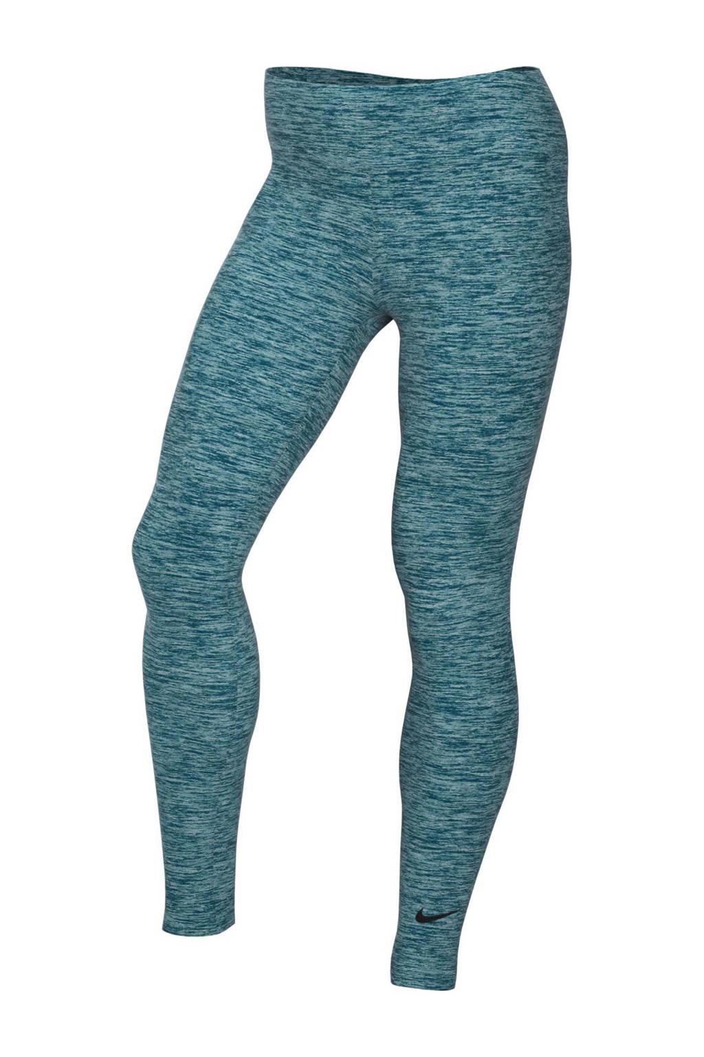 Nike 7/8 sportbroek turquoise, Turquoise