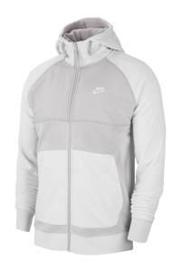 Nike   fleece vest lichtgrijs, Lichtgrijs
