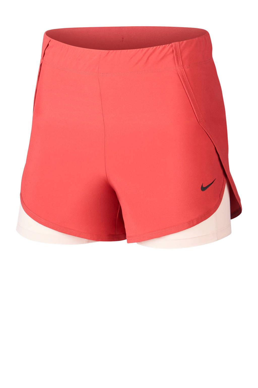 Nike sportshort rood/roze, Rood/roze