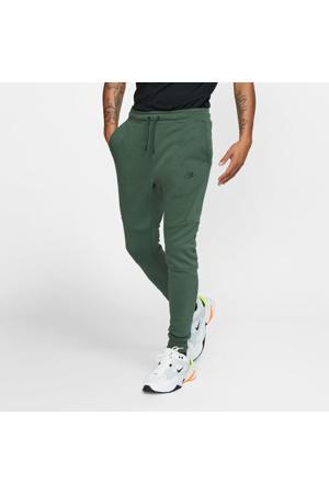 Tech Fleece joggingbroek groen