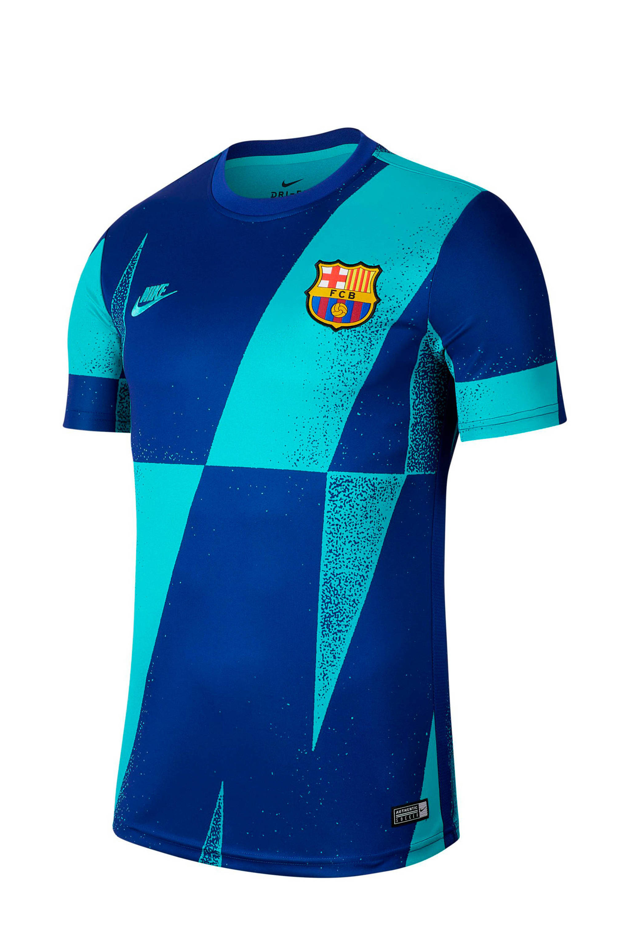 Zitzak Fc Barcelona.Nike Senior Fc Barcelona Voetbalshirt Blauw Wehkamp