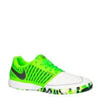 Nike Lunargato II  Lunar Gato II IC zaalvoetbalschoenen wit/groen, Wit/groen/antraciet