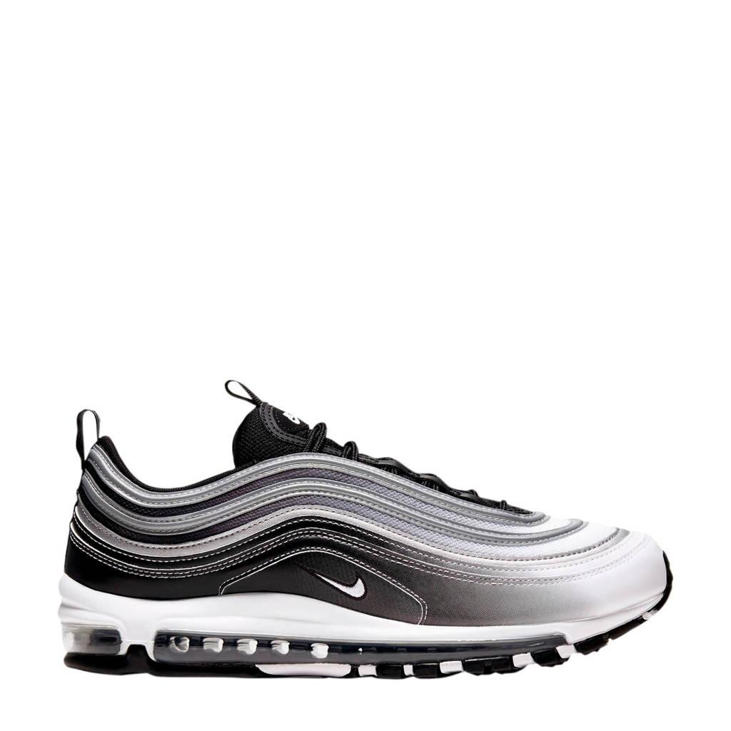 Nike Air Max 97 sneakers zwart/wit/zilver, Zwart/wit/zilver