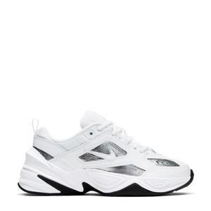 M2K Tekno  leren sneakers wit/zilver