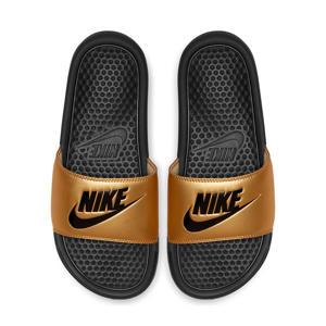 Benassi JDI  slippers goud/zwart