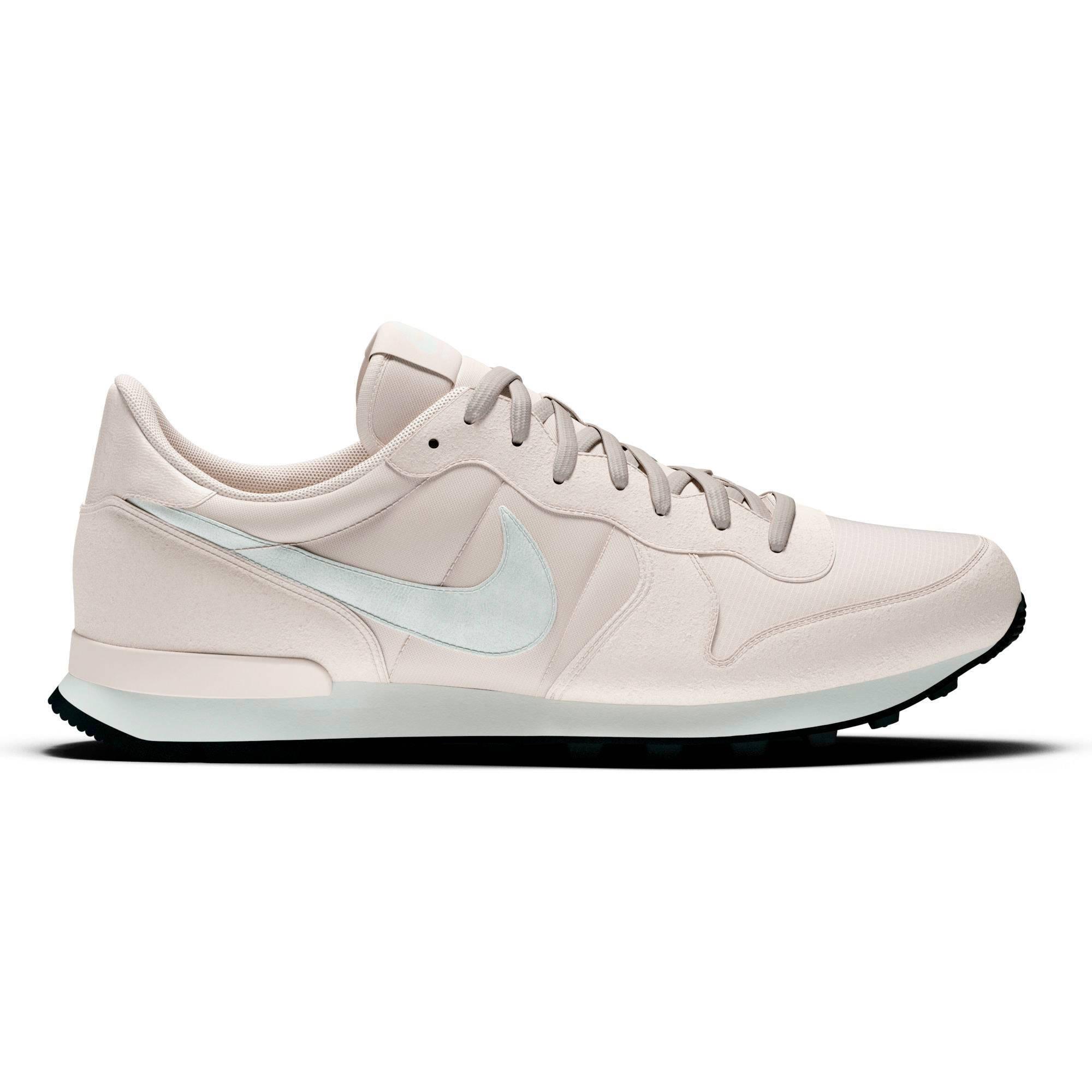 Nike Internationalist leren sneakers lichtroze | wehkamp