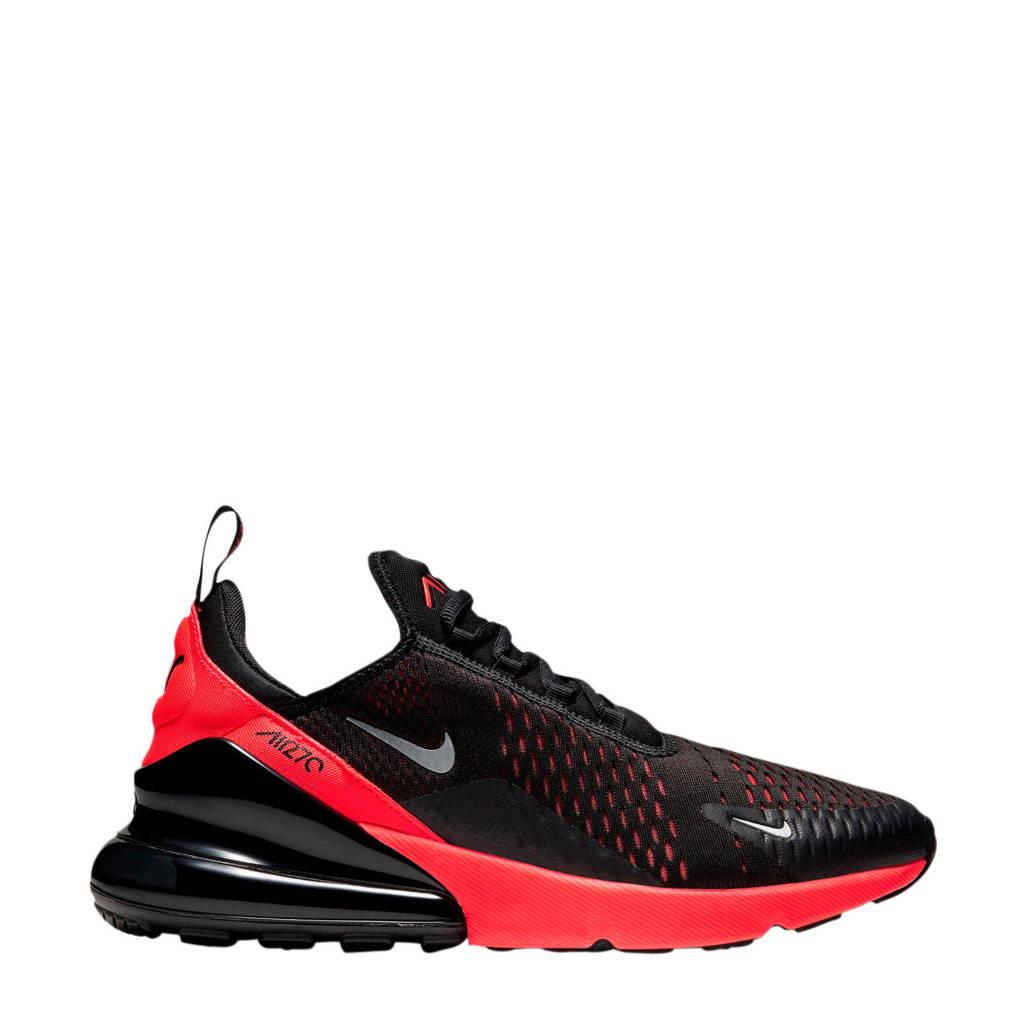 Nike Air Max 270 sneakers zwart/rood, Zwart/rood
