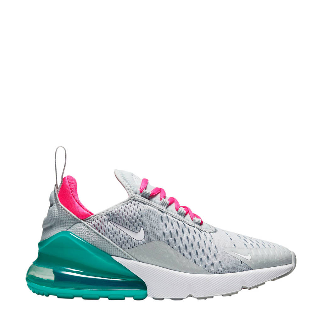 Nike Air Max 270 sneakers grijs/groen/roze, Grijs/groen/roze