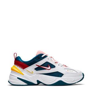 M2K Tekno  leren sneakers wit/multi