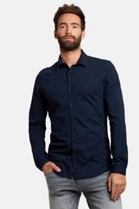 Refill by Shoeby regular fit overhemd dark blue, Dark Blue