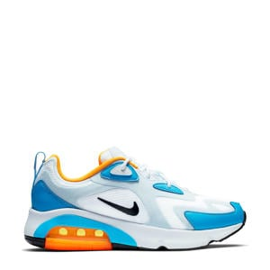 Air Max 200 sneakers wit/blauw
