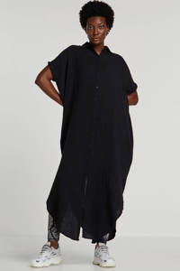 10DAYS blousejurk zwart, Zwart