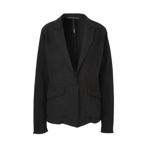 10DAYS linnen blazer zwart