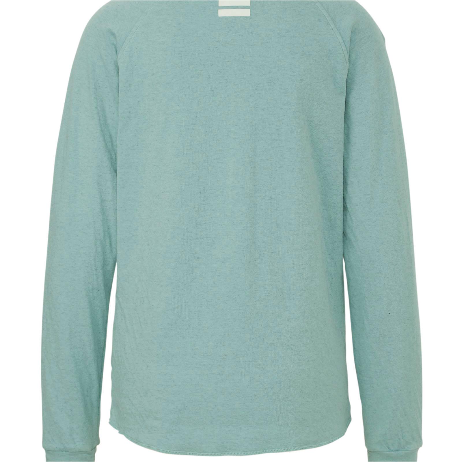 10DAYS sweater met logo lichtblauw