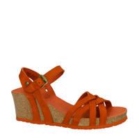 Panama Jack Vera  nubuck sandalettes oranje, Oranje/Brique