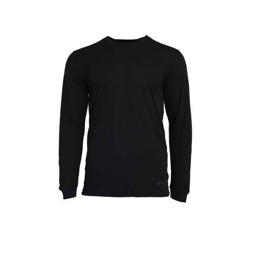 Campri thermo T-shirt (set van 2) zwart