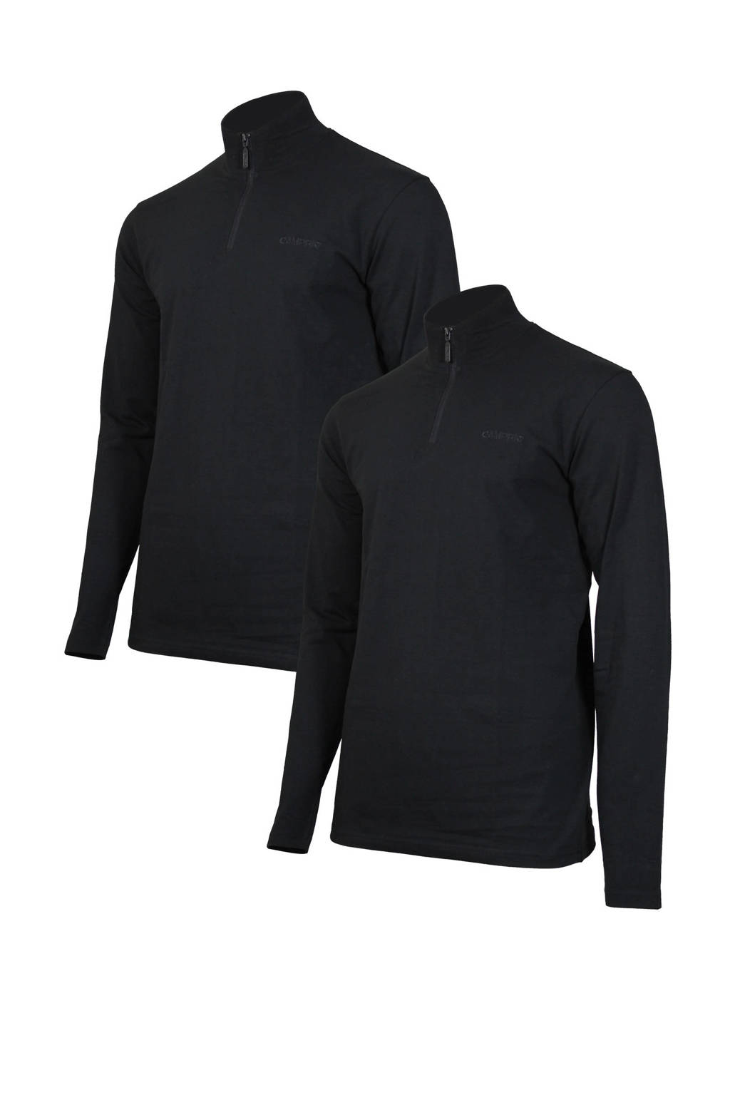 Campri   sport T-shirt zwart, Zwart