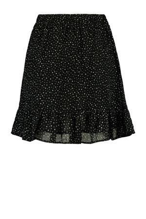 rok met stippen zwart,wit