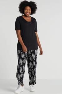 Yesta T-shirt zwart, Zwart