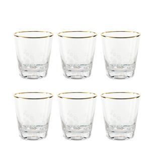waterglas (260 ml) set van 6